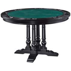 St. Croix Black Game Table