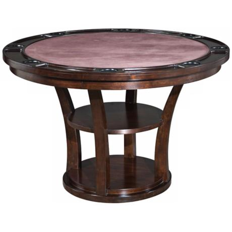 Rio Vista Espresso Game Table