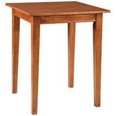Arts and Crafts Cottage Oak Bistro Table