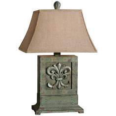 Uttermost Soana Mossy Green Table Lamp