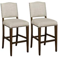 "Set of 2 American Heritage Worthington 26"" Counter Stools"