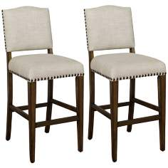 "Set of 2 American Heritage Worthington 30"" Bar Stools"