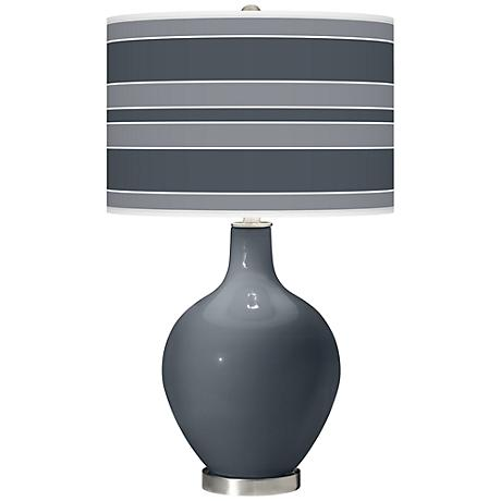 Turbulence Bold Stripe Ovo Table Lamp