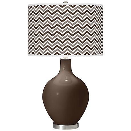 Carafe Narrow Zig Zag Ovo Table Lamp