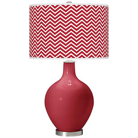 Samba Narrow Zig Zag Ovo Table Lamp