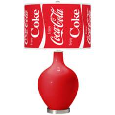 Enjoy Coca-Cola® Ovo Table Lamp