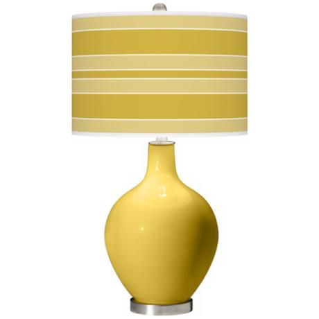 Nugget Bold Stripe Ovo Table Lamp