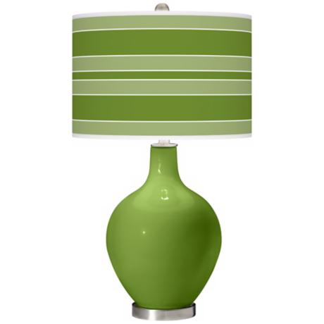 Gecko Bold Stripe Ovo Table Lamp