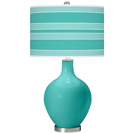 Synergy Bold Stripe Ovo Table Lamp