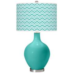 Synergy Narrow Zig Zag Ovo Table Lamp