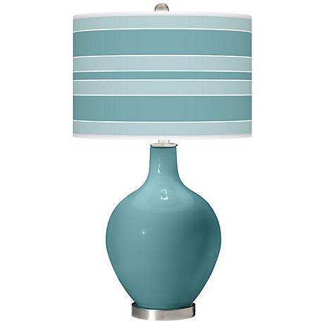 Reflecting Pool Bold Stripe Ovo Table Lamp