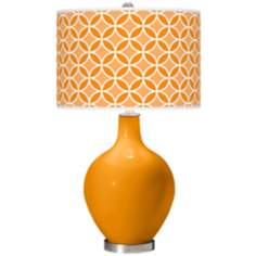 Mango Circle Rings Ovo Table Lamp