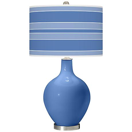 Dazzle Bold Stripe Ovo Table Lamp
