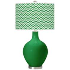 Envy Narrow Zig Zag Ovo Table Lamp
