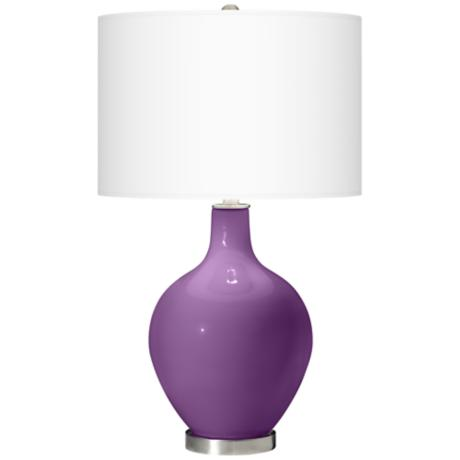 Passionate Purple Ovo Table Lamp