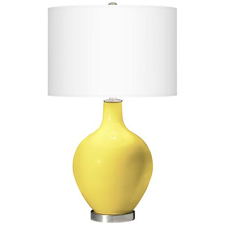 Lemon Twist Ovo Table Lamp