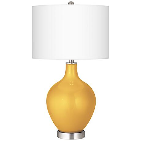 Sunshine Metallic Ovo Table Lamp