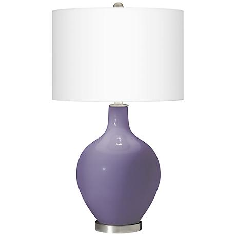 Purple Haze Ovo Table Lamp