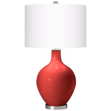 Cherry Tomato Ovo Table Lamp