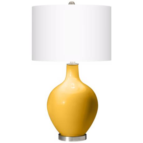 Goldenrod Ovo Table Lamp