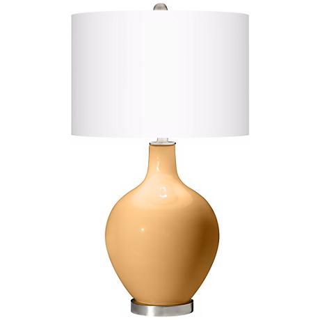 Harvest Gold Ovo Table Lamp