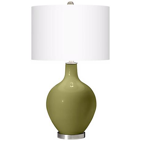 Rural Green Ovo Table Lamp