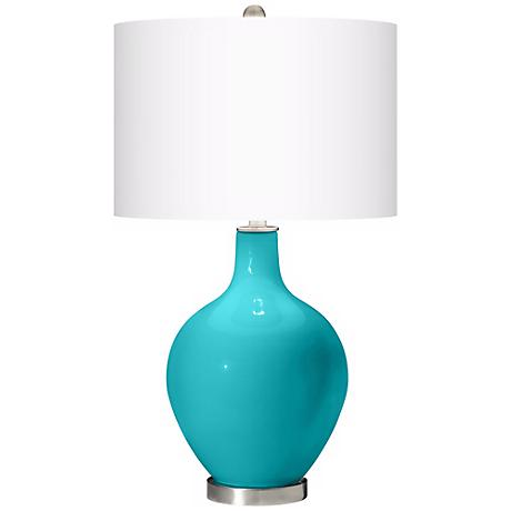 Surfer Blue Ovo Table Lamp