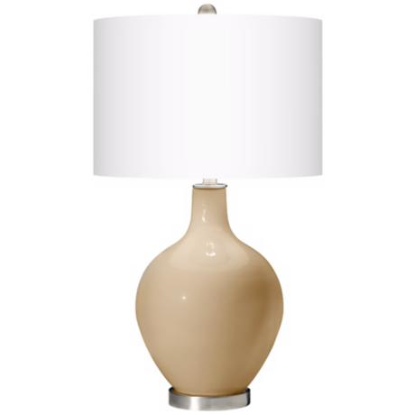 Colonial Tan Ovo Table Lamp