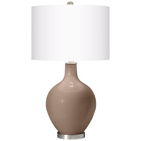 Mocha Ovo Table Lamp