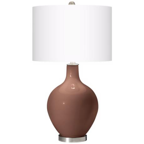 Rugged Brown Ovo Table Lamp