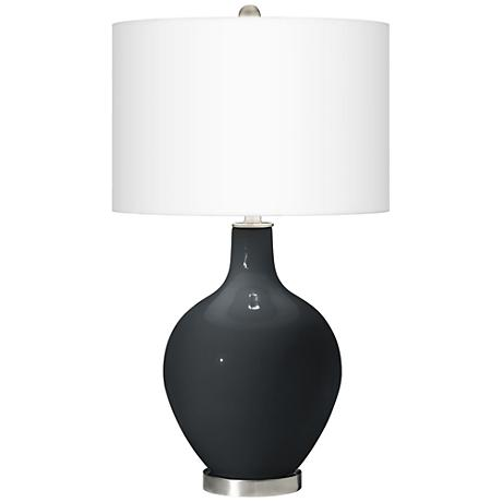 Black of Night Ovo Table Lamp