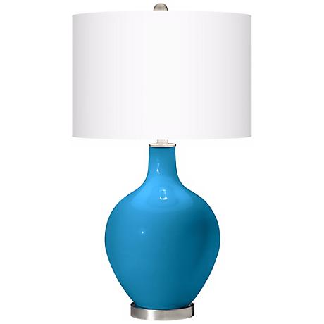 River Blue Ovo Table Lamp