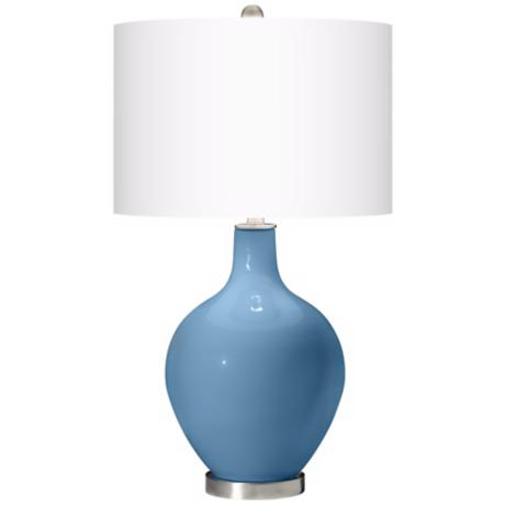 Secure Blue Ovo Table Lamp