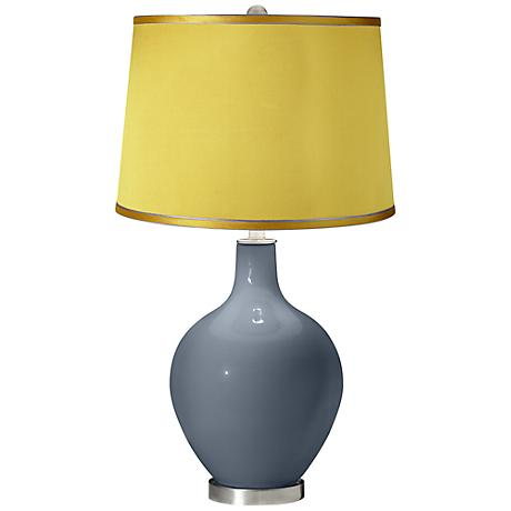 Granite Peak - Satin Yellow Shade Ovo Table Lamp