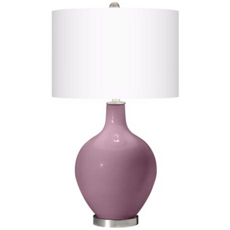 Plum Dandy Ovo Table Lamp