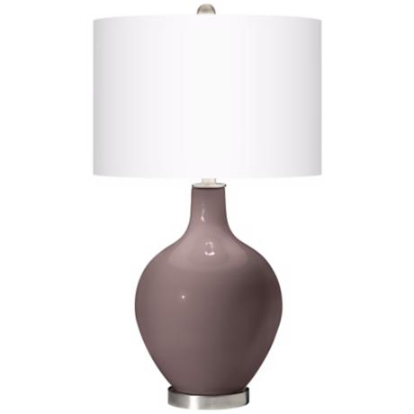 Deepest Mauve Ovo Table Lamp