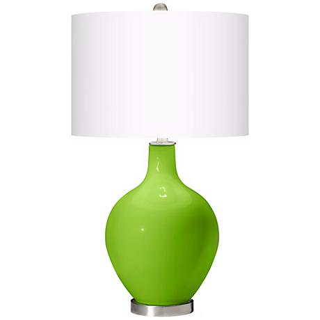 Neon Green Ovo Table Lamp