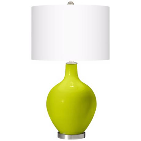 Pastel Green Ovo Table Lamp