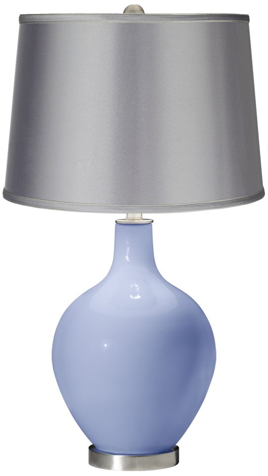 Replica Lucciola Pendant by Vistosi Cheap Lilac – Satin Light Gray Shade Ovo Table Lamp