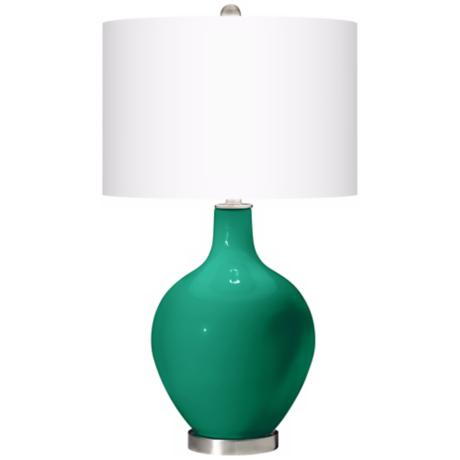 Emerald Ovo Table Lamp