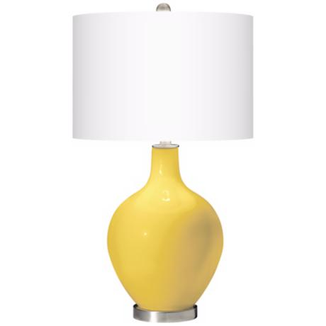 Lemon Zest Ovo Table Lamp