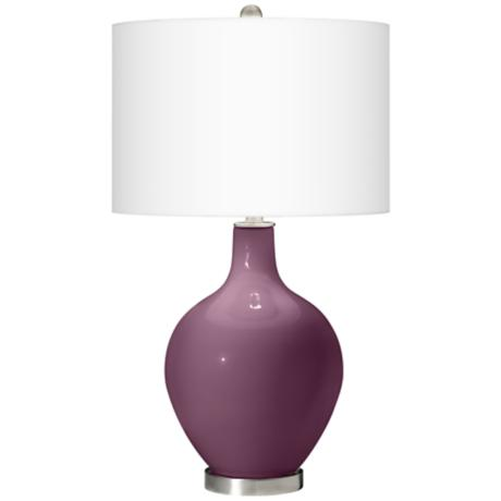 Grape Harvest Ovo Table Lamp