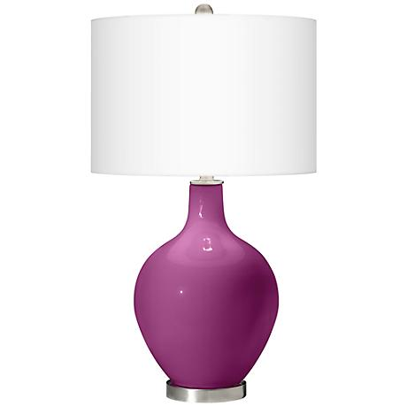 Verve Violet Ovo Table Lamp