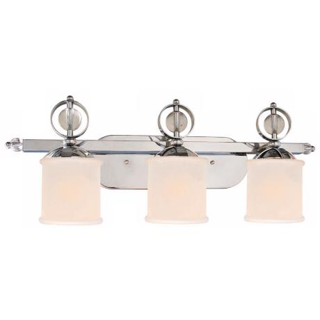 "Cerchi Collection 3-Light 29 1/2"" Wide Chrome Bath Light"