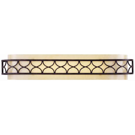 "Cercado Collection 32 1/4"" Wide Corsini Bronze Bath Light"