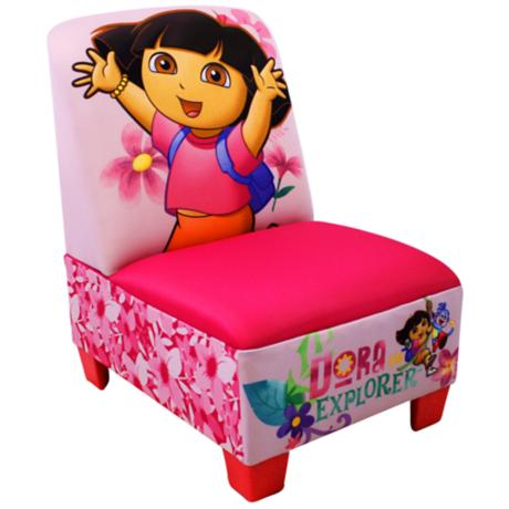 Nickelodeon Dora the Explorer Armless Chair