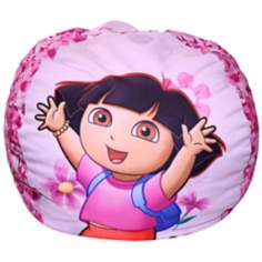 Nickelodeon Dora the Explorer Flowers Bean Bag Chair