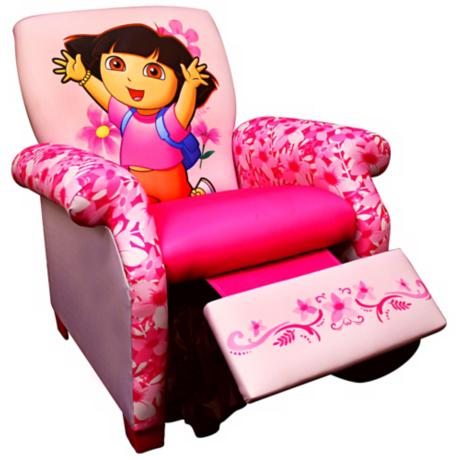 Nickelodeon Dora the Explorer Child Recliner