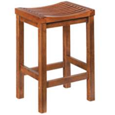 "Cottage Oak 24"" Counter Bar Stool"
