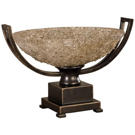 Uttermost Crystal Palace Glass Centerpiece